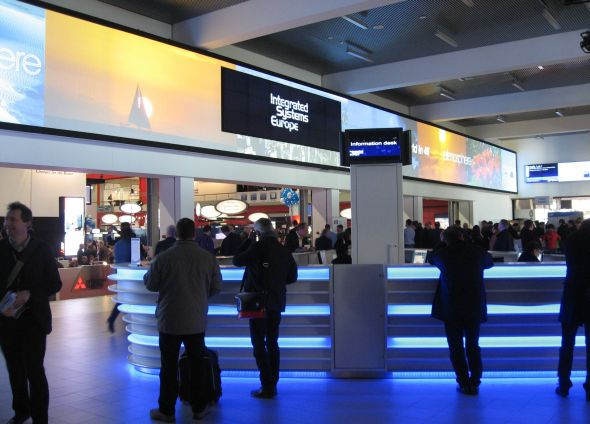 During ISE 2012, at-show rebooking for 2013 resulted in 28,300 net square metres of floor space being reserved by existing ISE exhibitors