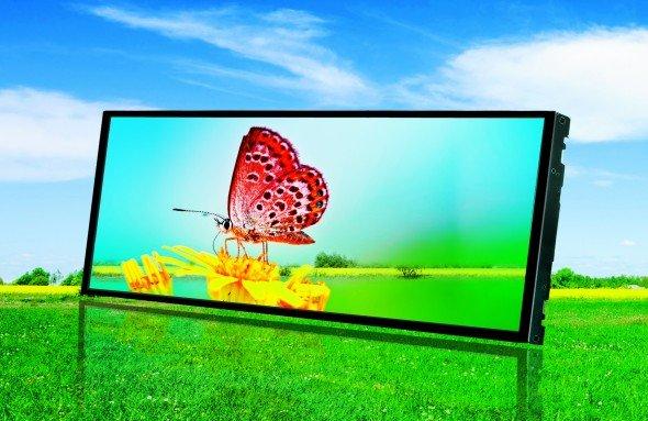 Neues LG Display mit 600cd/m²: Das LB043WV2-SD01