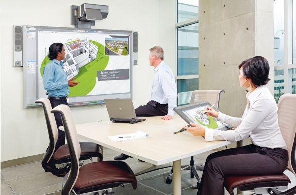 Künftig wird Lync 2010 unterstützt - SMART Technologies 885ix Interactive Whiteboard