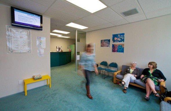 Wartezimmer von Family Planning in Neuseeland