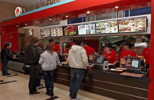 Moskauer Fastfood-Restaurant von Wendy's (Foto: AOpen)