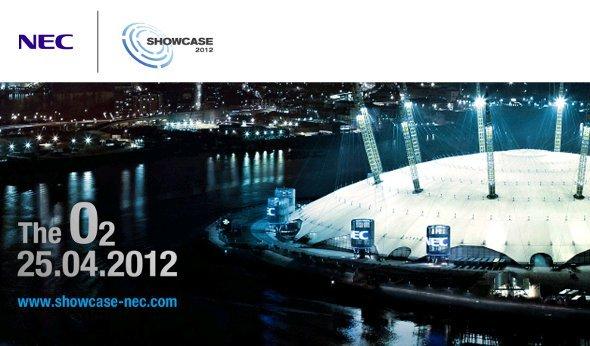 NEC Showcase 2012 im Herzen Londons