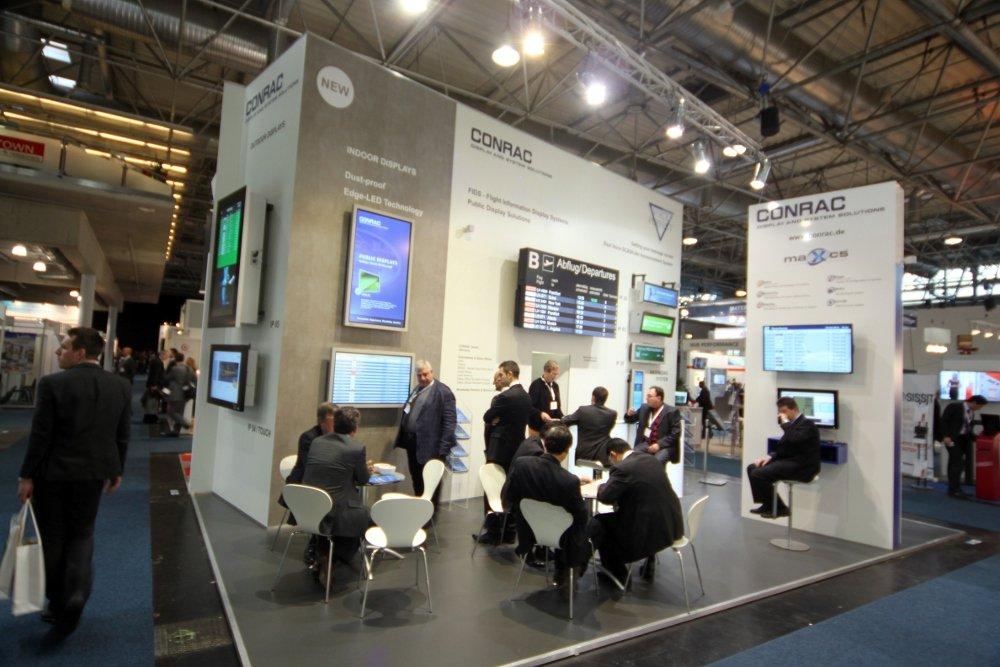 PTE 2012: Conrac präsentiert neue IP54 Displays