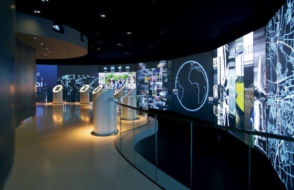 Dauereinsatz: Christies Projektoren arbeiten in der Autostadt Wolfsburg (Foto: Christie)