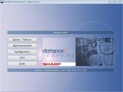 Sharps UP-V5500 und RZ-X650 laufen nun mit datapos (Foto: Sharp)