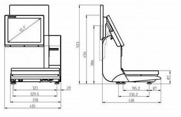Mettler Toledos Waage UC-HTT-M schafft es in den Olymp des Produktdesigns (Grafik: Mettler Toledo)