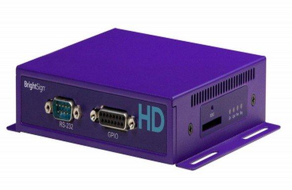 Flagschiff der neuen BrightSign-Serie: HD1020 (Foto: BrightSign)