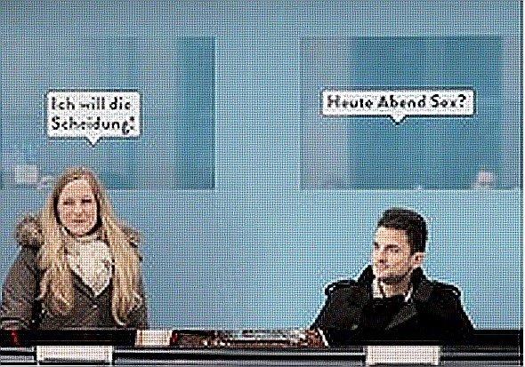 """Wall und Grey werben für Comedy Centrals neue TV-Serie """"Happy Endings"""" (Foto: Wall AG)"""