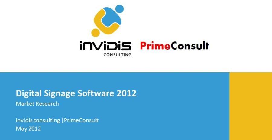 Digital Signage Software Report 2012
