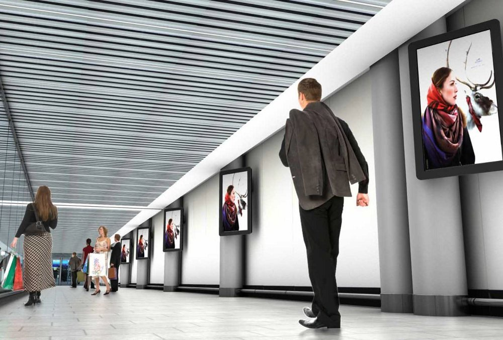 Frankfurt Airport Gallery Walk - neue digitale Netzwerke
