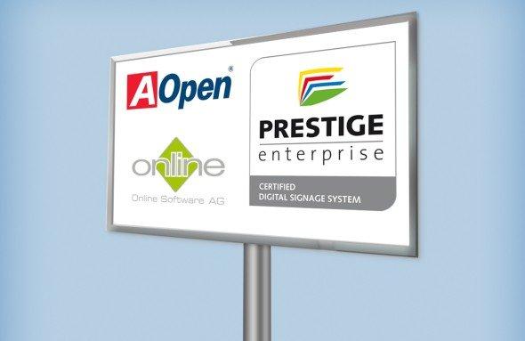 AOpen und Online Software AG rücken zusammen (Grafik: Online Software AG)