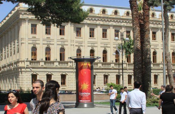 JCDecaux in Aserbeidschan - Markteintritt passend zum Eurovision Song Contest 2012 (Foto: JCDecaux)
