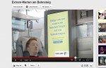 Michael Stapf , Protagonist der multimedialen Kampagne, wartet seit sieben Jahren auf den erlösenden Anruf (Screenshot: invidis.de)