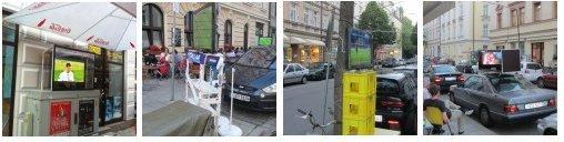 Innovative Installationen zur EM2012