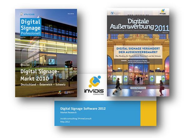 Neu auf der Digital Signage Conference Munich: die invidis Consulting Business Lounge