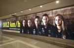 Die DTB-Spielerinnen sind Teil des Kampagnenmotivs (Foto: IAM)