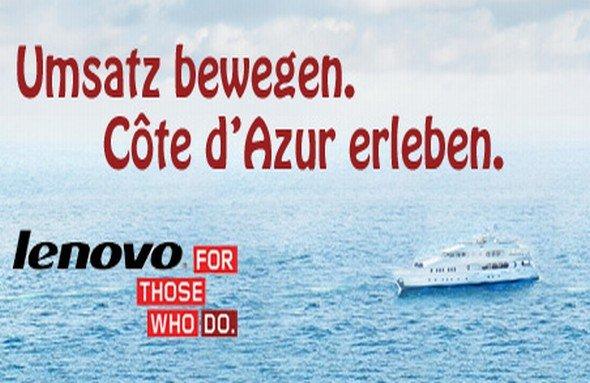Zehn Reseller dürfen mit Lenovo und Ingram Micro an die Côte d'Azur (Foto: Ingram Micro)