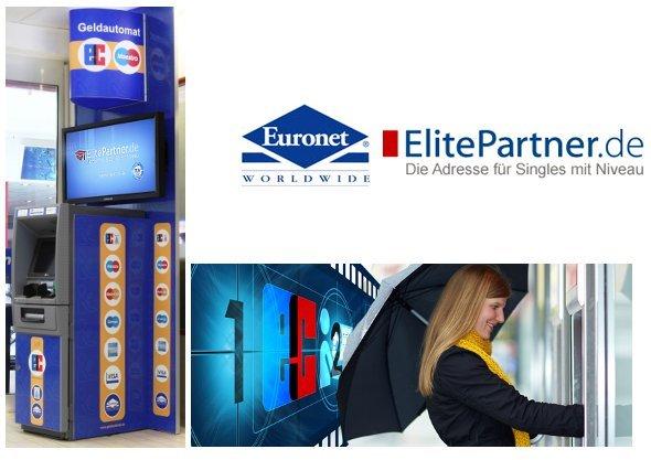 ElitePartner wirbt an Euronet Geldautomaten