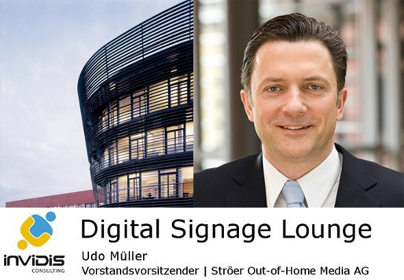 invidis consulting lounge: Udo Müller / Ströer Out-of-Home Media AG