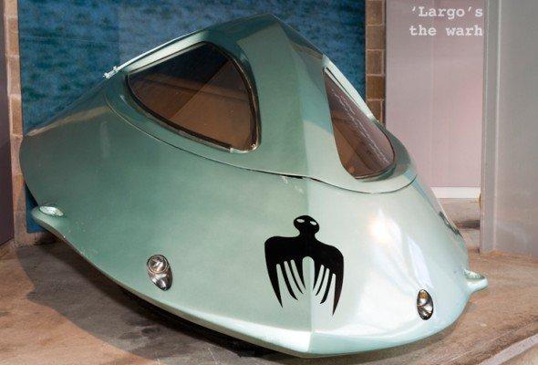Unterwasservehikel von Schurke Ernst Stavro Blofeld: das Bath-O-Sub (Foto: National Motor Museum)