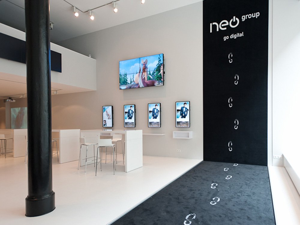 Der neue Neo Showroom in der Hamburger City