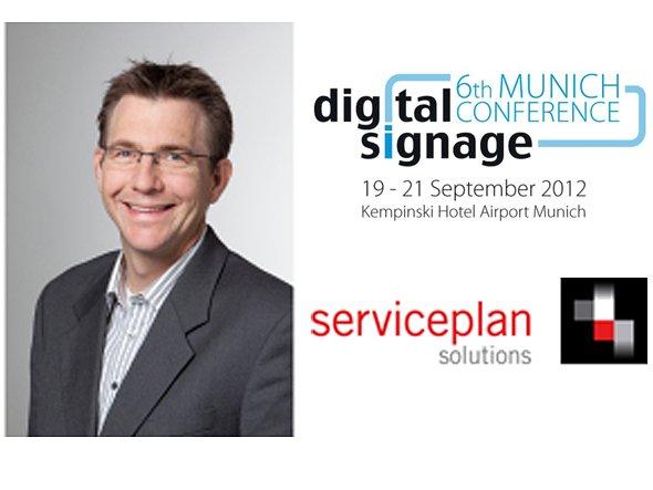 Christian Rössler, Geschäftsführer von Serviceplan Digitalsignage +