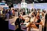 Business und Displays: EA-Stand am Fachbesuchertag (Foto: Electronic Arts)