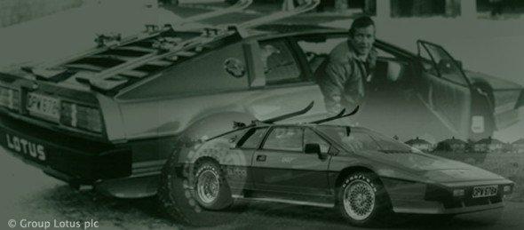 Im Jahr 1981 war Evonik noch ein Teil der in Essen beheimateten Ruhrkohle AG - und der Lotus Esprit S3 wurde von 007 präsentiert (Foto: Group Lotus plc)