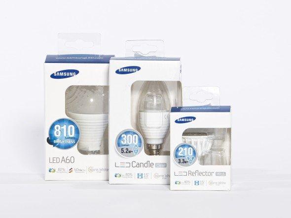 Erste LED-Leuchtmittel von Samsung werden in Deutschland vertrieben (Foto: Samsung)