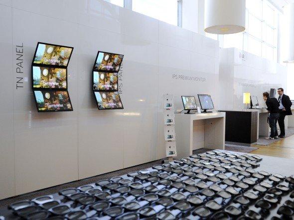 Displays, Videowände, LED-Innovationen - am 12. September werden Lösungen für verschiedene Branchen präsentiert (Foto: LG)