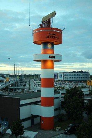 Sixt will hoch hinaus: Der Radarturm ist 40 Meter hoch (Foto: Sixt)