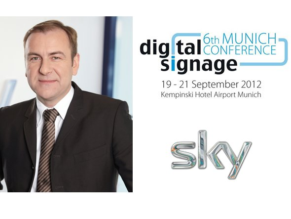 Uwe Müller, Vice President Business Solutions bei Sky
