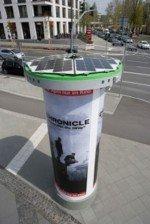 Auch mobile Säulen können kostengünstig umgerüstet werden (Foo: Ströer)