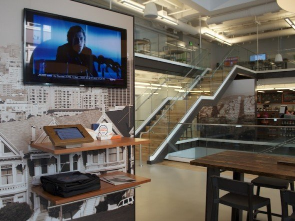 ArmorActive-Installation im ING Direct Cafe in San Francisco (Foto: ArmorActive)