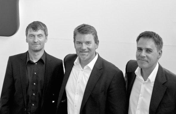 Triumvirat von links: Joachim Bader, Wolf Ingomar Faecks und Daniel Barnicle (Foto: SapientNitro)