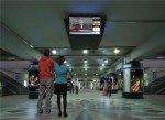 Strom sparen auch bei redundant konstruierten Systemen - IPTV-Lösung am Airport (Foto: Exterity)