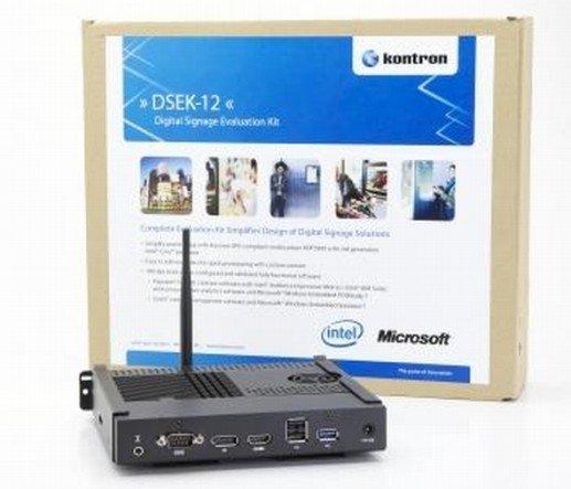 DSEK-12 KIT - jetzt bieten Intel, Kontron und Microsoft die All-In-One-Lösung an (Foto: Kontron)
