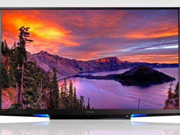 Wird aktuell nur im US-Markt vertrieben: L75-A94 75″ LaserVue-Display (Foto: Mitsubishi Electric USA)