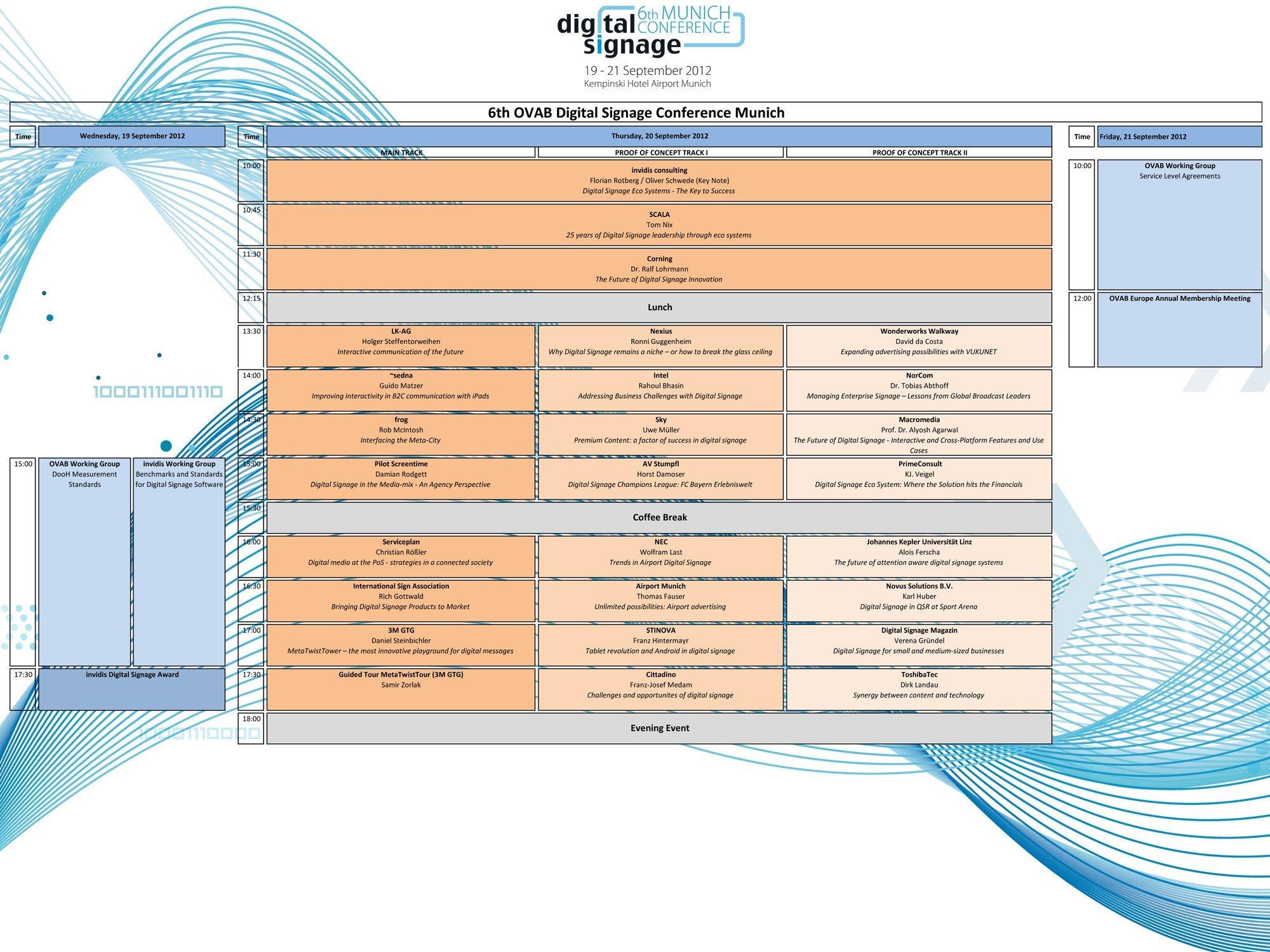 Digital Signage Conference Munich: Europas führende Digital-Signage-Strategiekonferenz
