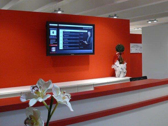 Installation von Memedia und LA AG für Seat Hamburg (Foto: Memedia)