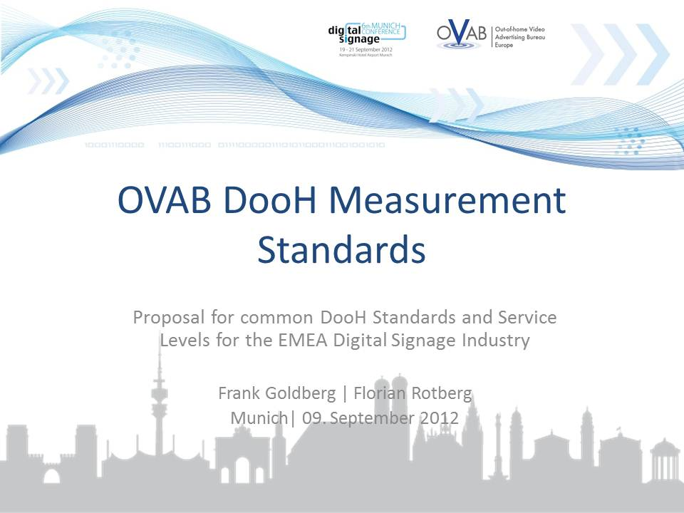 OVAB DooH Measurement Standards