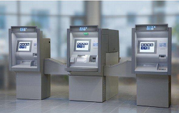 Banqits Cash Recycling System Q-CashRouter mit CINEO-Lösung von Wincor Nixdorf (Foto: Banqit AB)