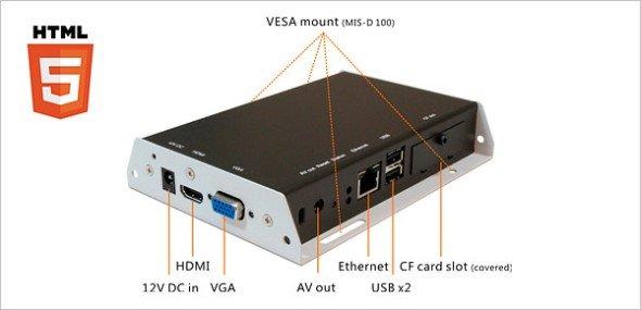 LionDATA Videostreamer und IAdea SMIL-Player jetzt bei Ingram Micro: SMIL-Player II Pro (Foto: itworx-pro)