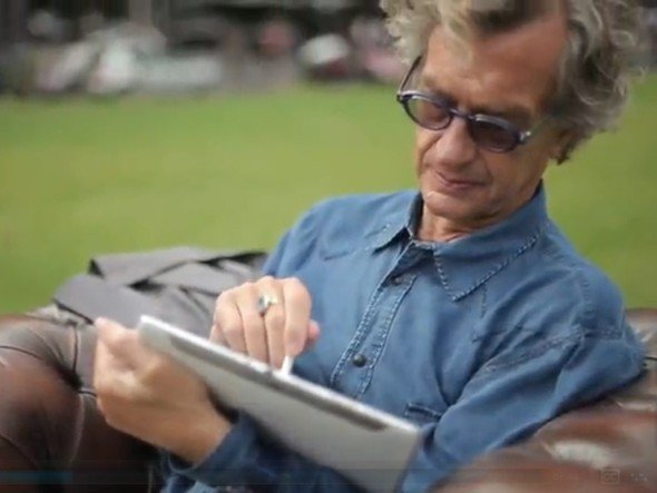 Wim Wenders kehrte für Samsung an die Drehorte zurück (Screenshot: invidis.de)
