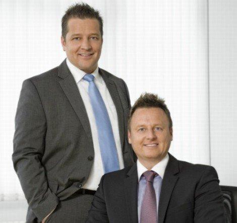 Gründeten Viewento 2007: die Geschäftsführer Kay Schulz und Achim Krembs (v.l.) (Foto: Viewento)