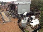 Mit LED-Videowänden und Regie ausgestattet: Trucks im Einsatz in Wacken (Foto: LEUROCOM)