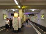 Am U-Bahnhof Friedrichstraße ist die Soundwall zumersten Mal zu hören (Foto: Wall AG)