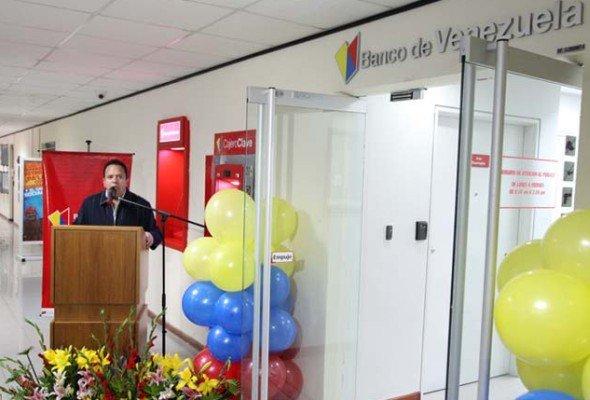 Banco de Venezuela - Eröffnung einer Filiale (Foto: Banco de Venezuela)