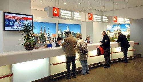 Fotogalerie Deutsche Bahn Aufrufsystem (2009)