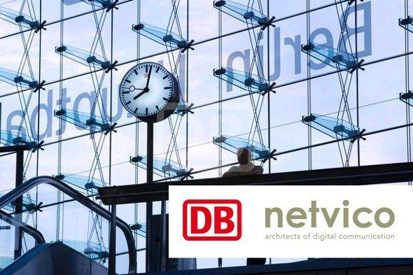 Neue netvico Kundenaufrufsysteme für DB (Foto: DB)